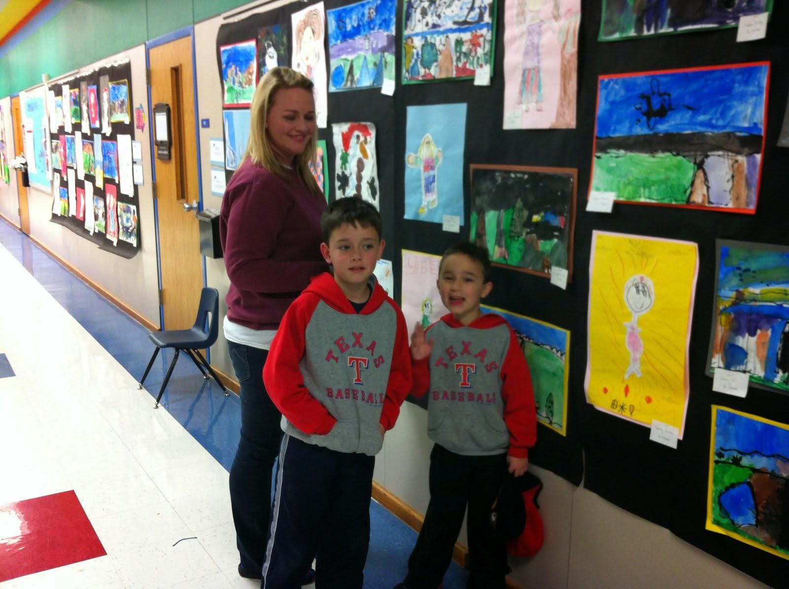 Donald ES Student Art Show