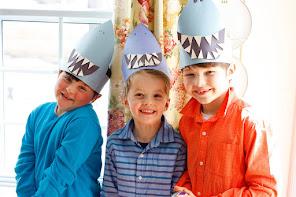 Three sharks