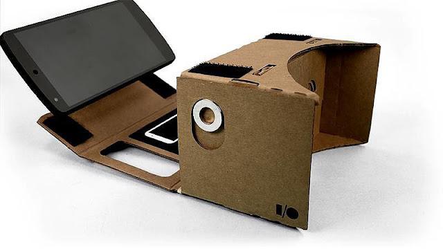 أحصل على نظارات جوجل للعالم الافتراضي مجانا تصلك إلى باب منزلك