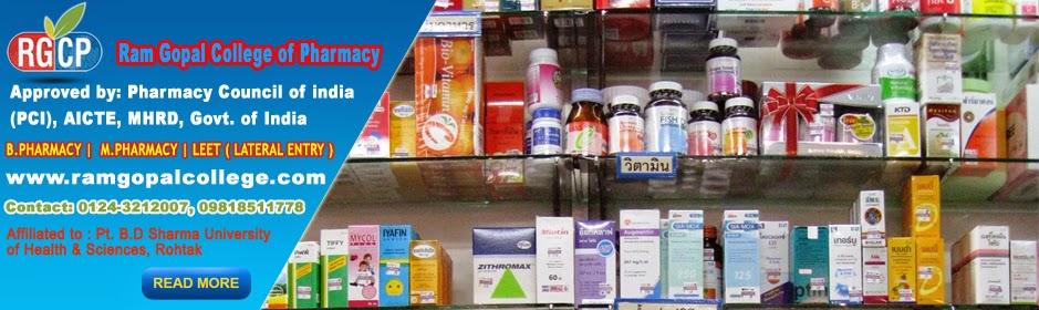 M.Pharmaceutics College Delhi