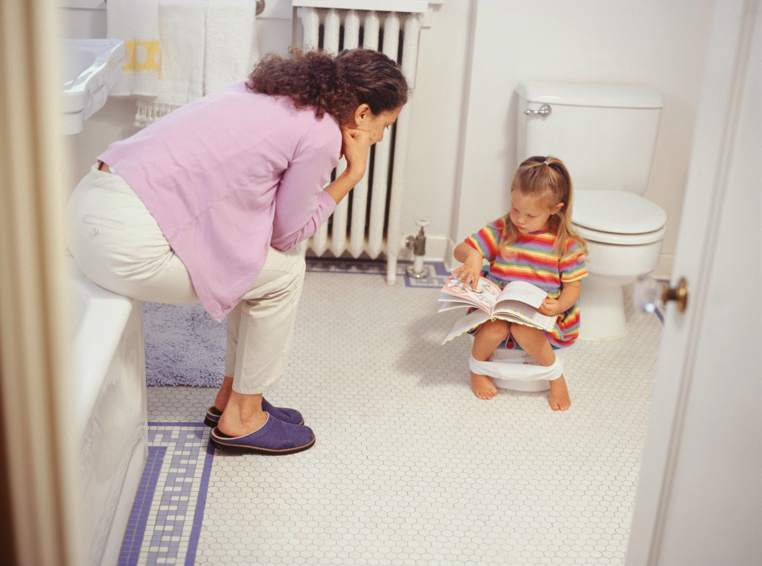 start potty training on disable children?