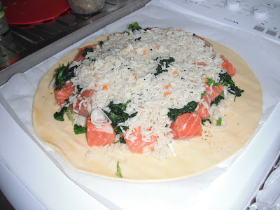 Salmon Coulibiac Part 2