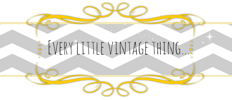Every little vintage thing