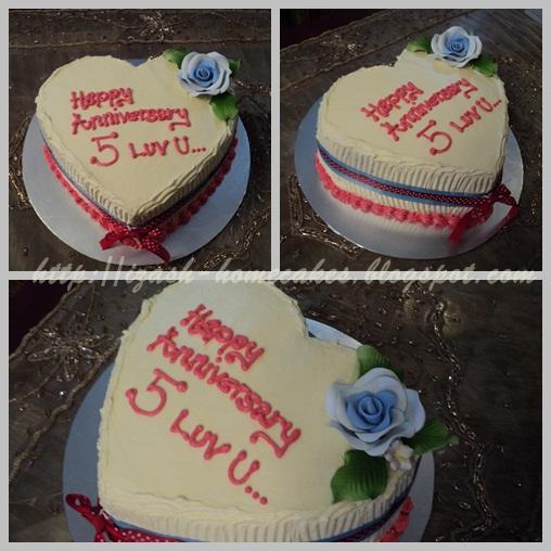 Izash homecakes th anniversary cake tq roslina