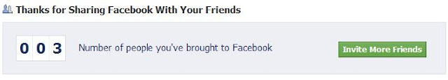 Who Joined Facebook Because of You