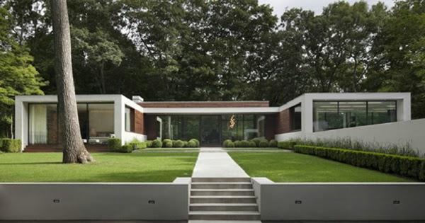 Dise os de casas casa moderna en connecticut decoracion for Casa moderna 2014 espositori