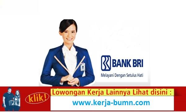 Lowongan Kerja Terbaru Sebagai Asosiasi Account Officer Bank BRI