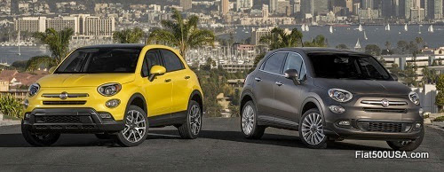 Fiat 500X Trekking and Lounge