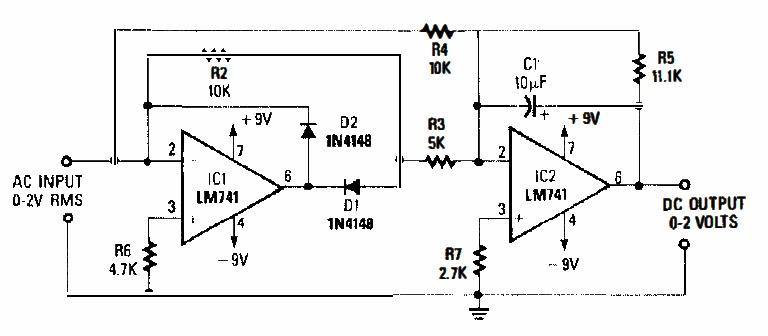AC/DC converter circuit