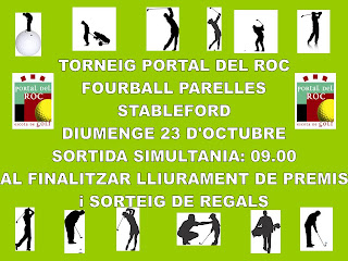Torneig Parelles Pitch and Putt Portal del Roc