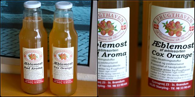 æblemost, rød aroma, cox orange, frugthaven