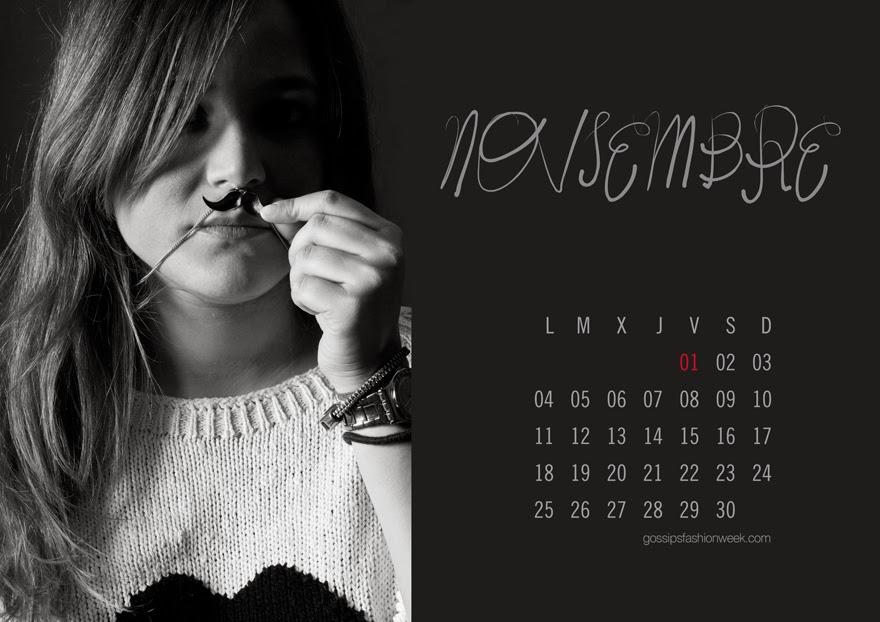 calendario solidario blogger solidarity calendar olga gigirey
