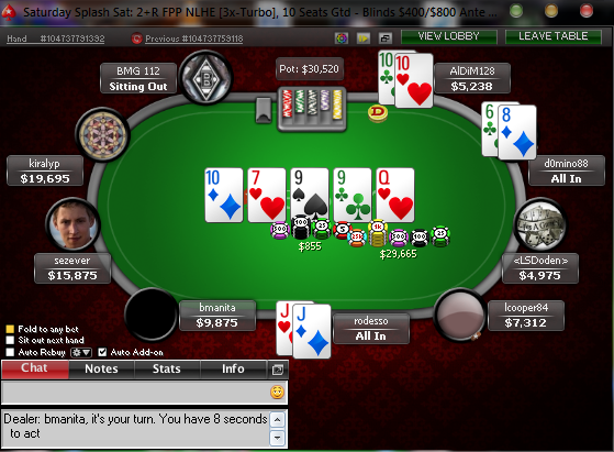 Pokerstars constant bad beats