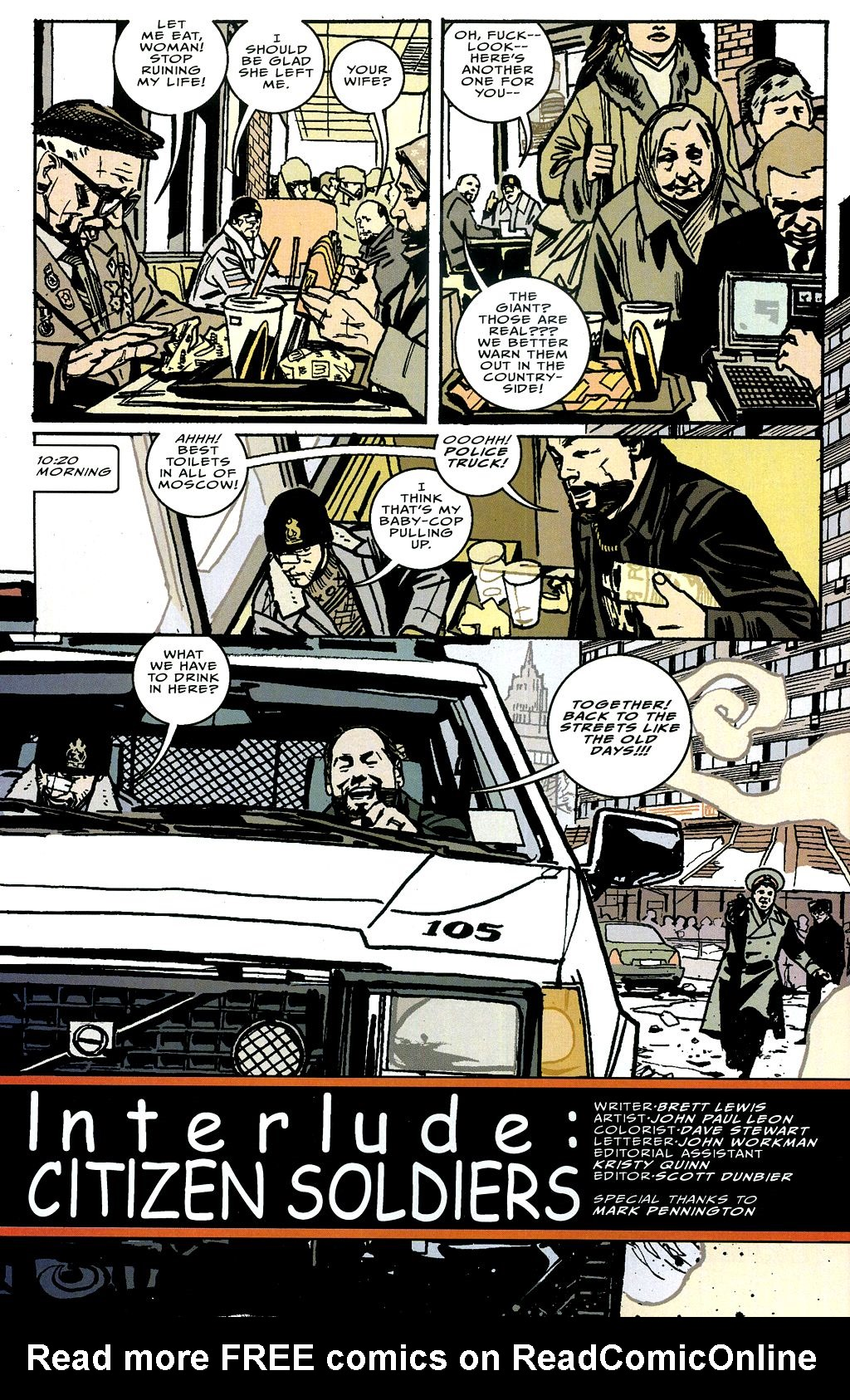 Read online The Winter Men comic -  Issue #4 - 5