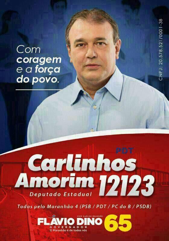Carlinhos Amorim para Deputado Estadual