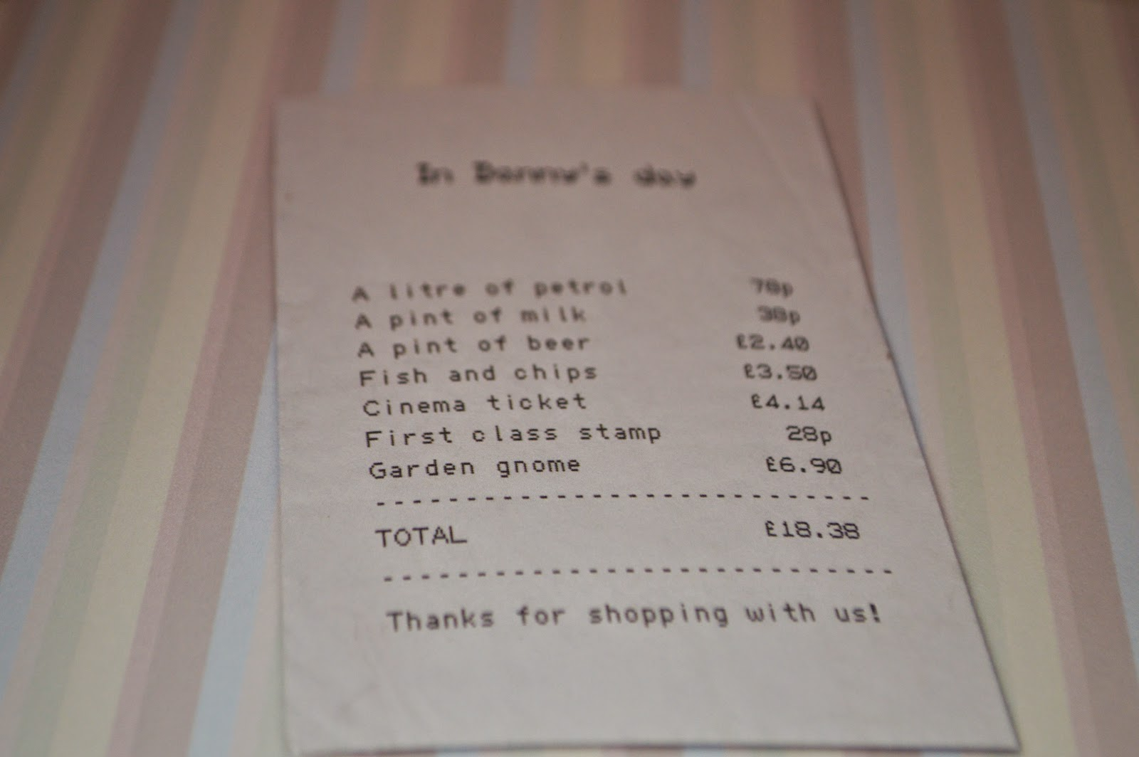 The Book of Everyone Danny Review Age UK Christmas Gift Receipt