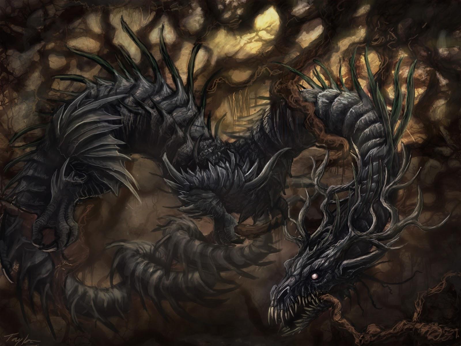 S est pour le dragon suce