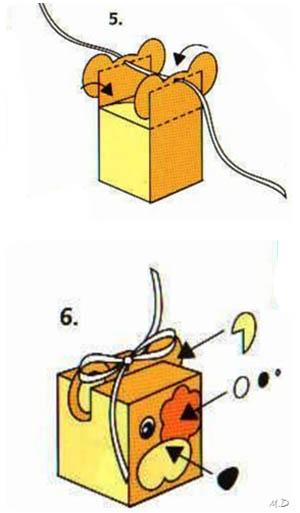 Manualidades: paso a paso como hacer cajitas.