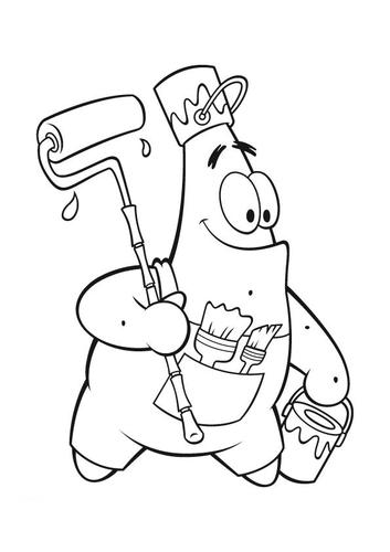 free coloring pages online for you patrick starfish coloring pages ...