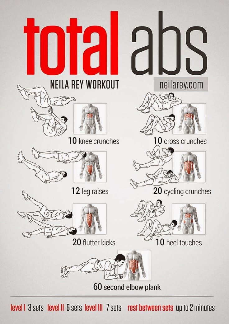how to get abs at home exercises