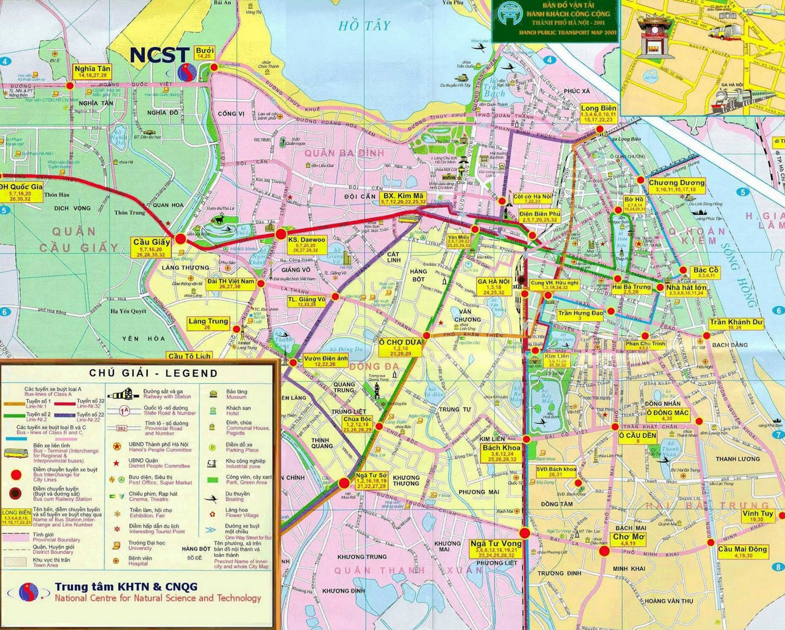 Tourist map Hanoi Vietnam – Madrid Tourist Attractions Map