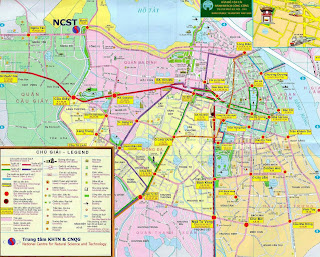 Plano Hanoi transport network