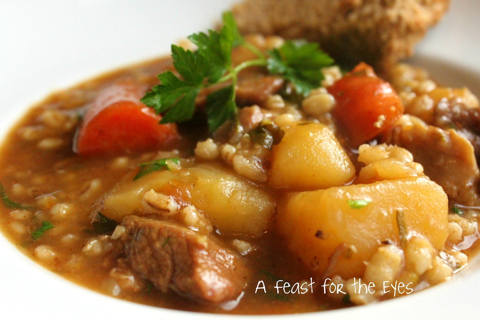 ... Feast for the Eyes: Guinness Irish Lamb Stew & Irish Brown Soda Bread