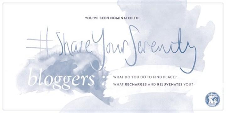 #ShareYourSerenity