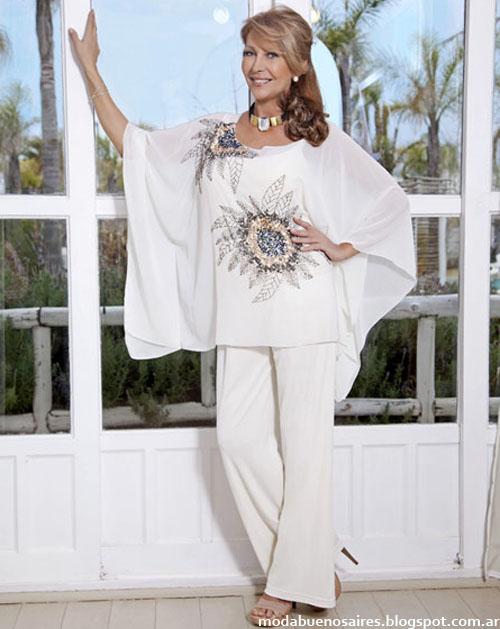 Mamy Blue moda verano 2013. Moda talles grandes.