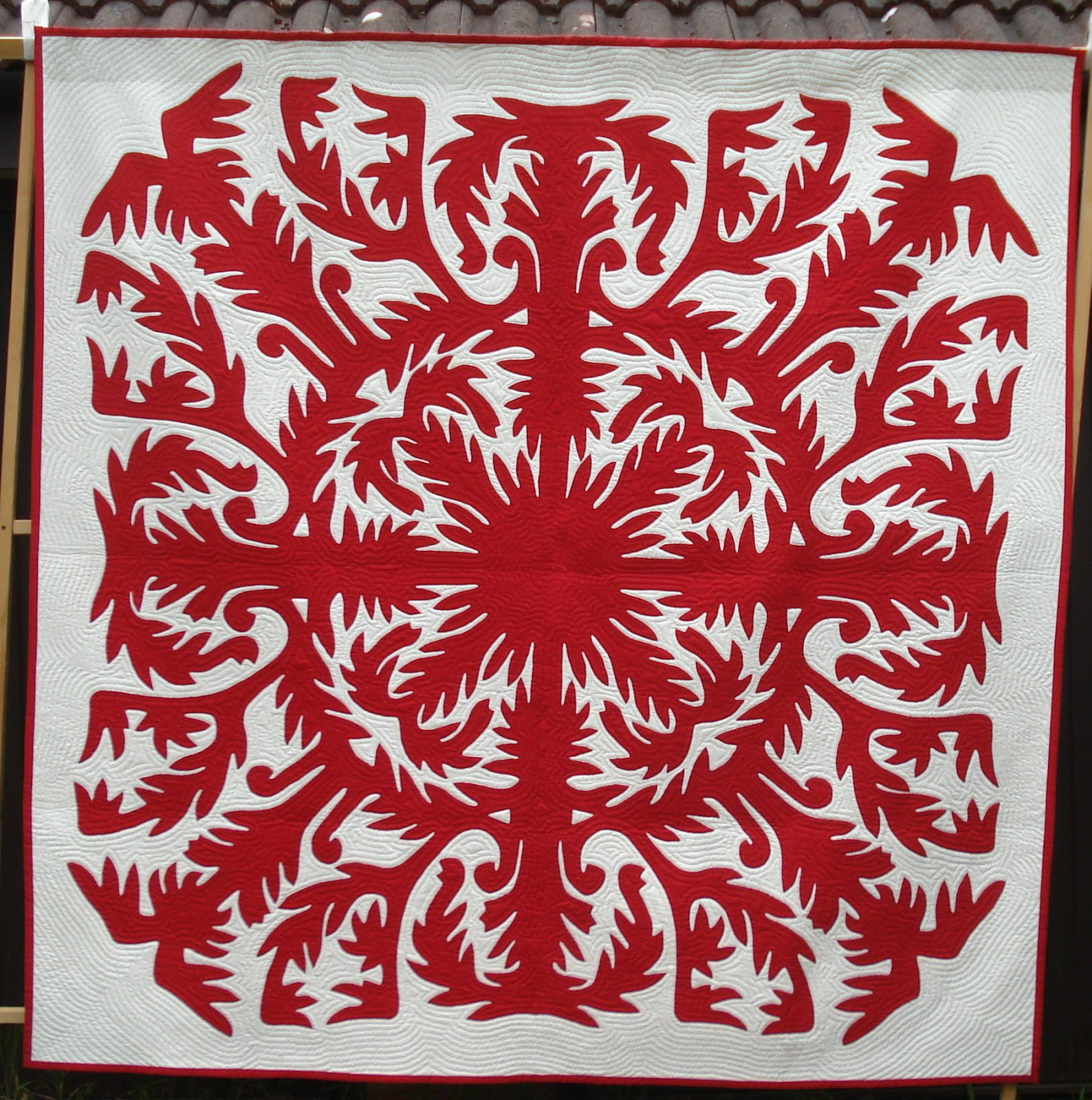 Traditional Hand Quilting Patterns : Welsh Quilts: Pippa Moss - Hawaiian quilts