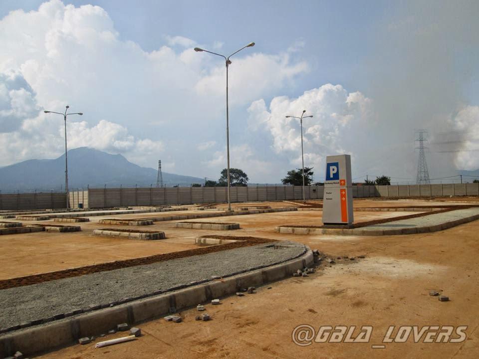 progres lahan parkiran stadion gbla stadion gbla parkiran gerbang ...