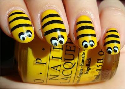 uñas de abejas