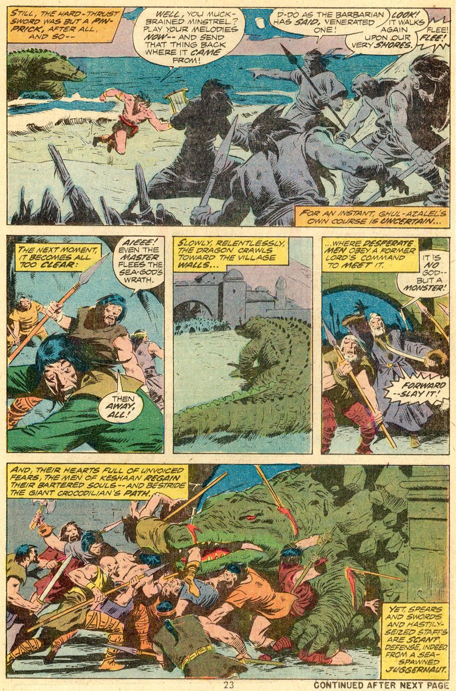 Conan the Barbarian (1970) Issue #39 #51 - English 15