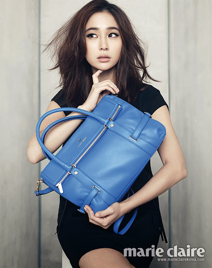 Lee Min Jung - Marie Claire Magazine February Issue 2014