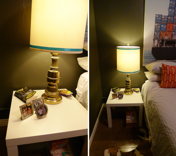 Ikea Grundtal Lights Not Working ~ Nesna Nightstand Hack Guestroom nightstand hack
