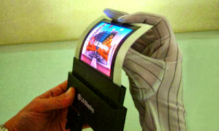 lg phablet flexible display