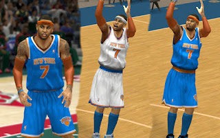 NBA 2K13 Mods New York Knicks Jersey Patch