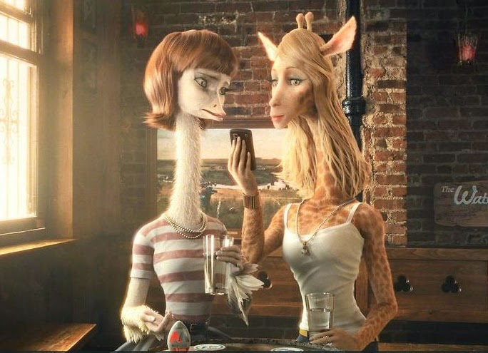 Mascota de imgur y su novia