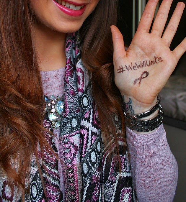 #WeWillUnite photo for World Cancer Day 2015