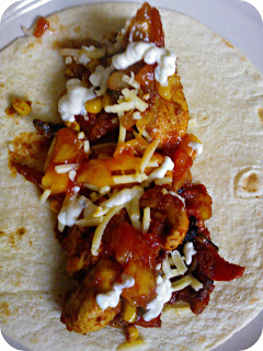 Discovery Foods Actifry Fajitas ready to roll