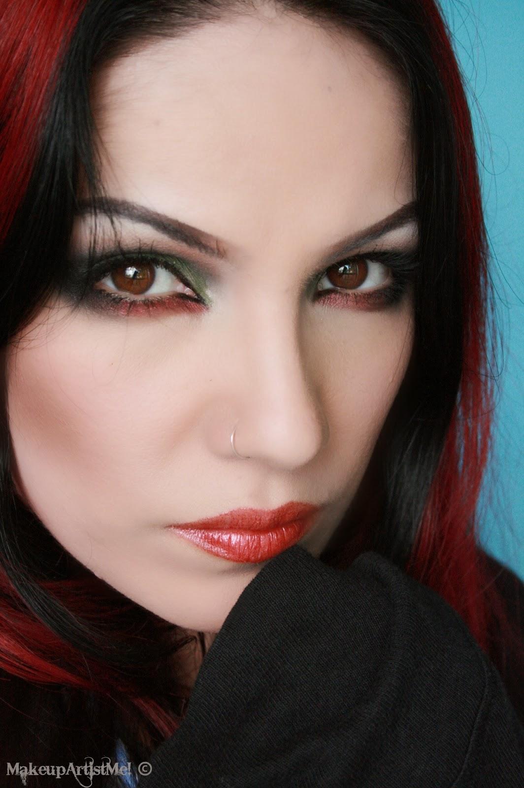 Make up artist me grunge chick makeup tutorial