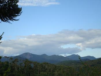Vista para Pedra do Jair / Pedra Bonita altitude 2120m