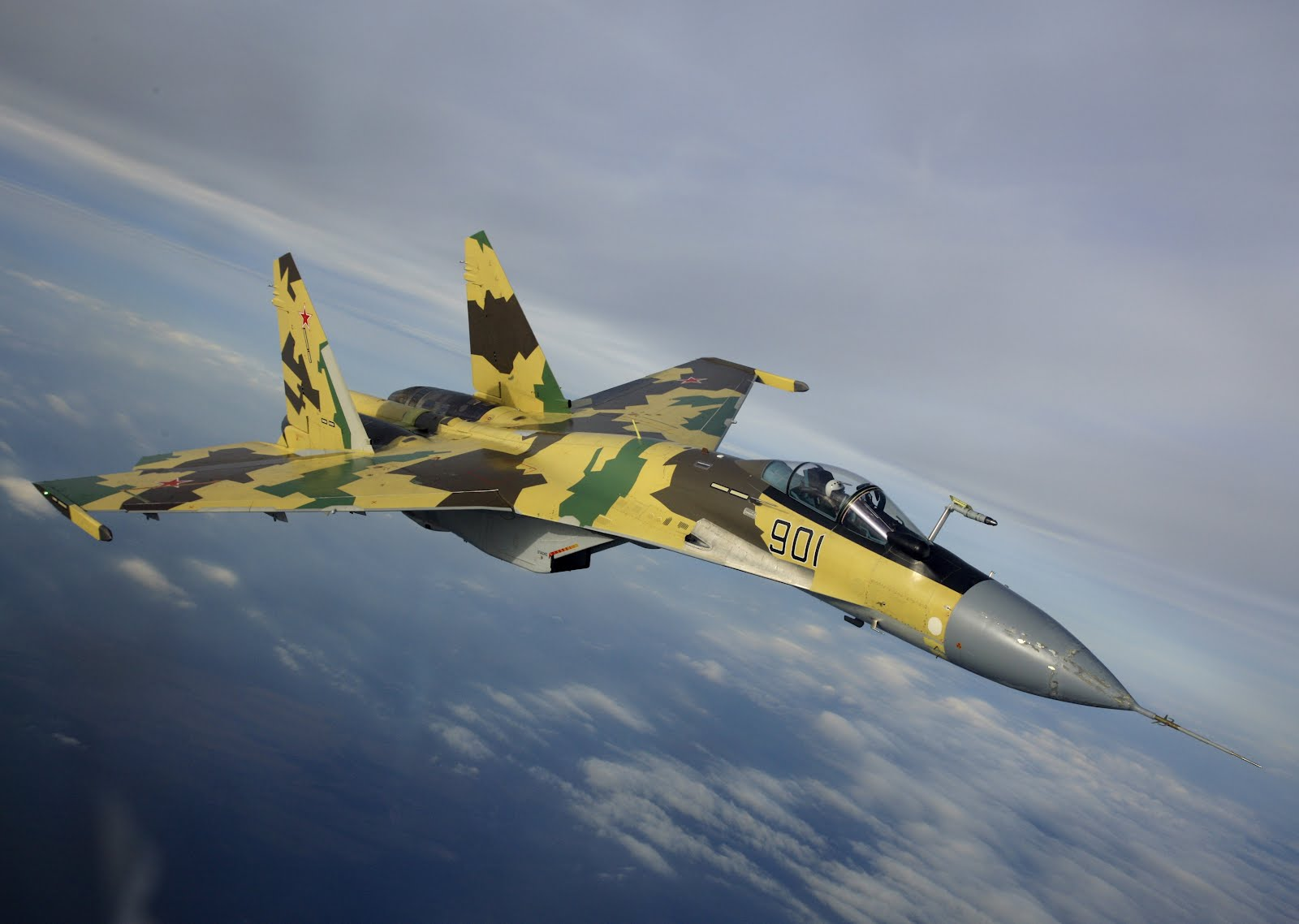 Sukhoi Su-35 Flanker-E Wallpaper 5