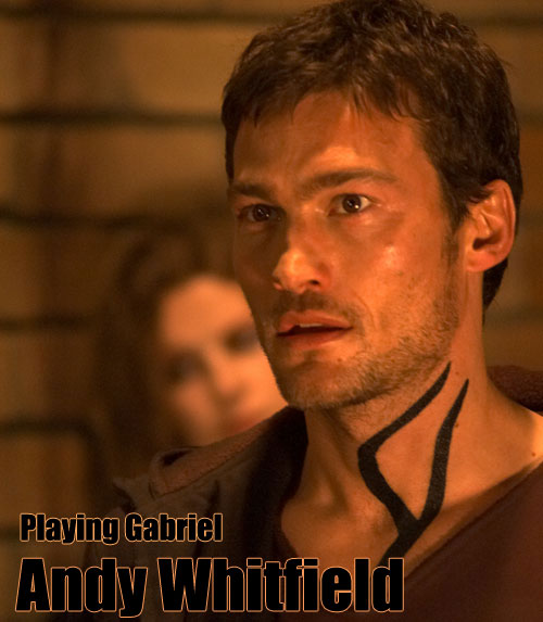 Andy Whitfield  ator de Spartacus  morre aos 39 AnosAndy Whitfield