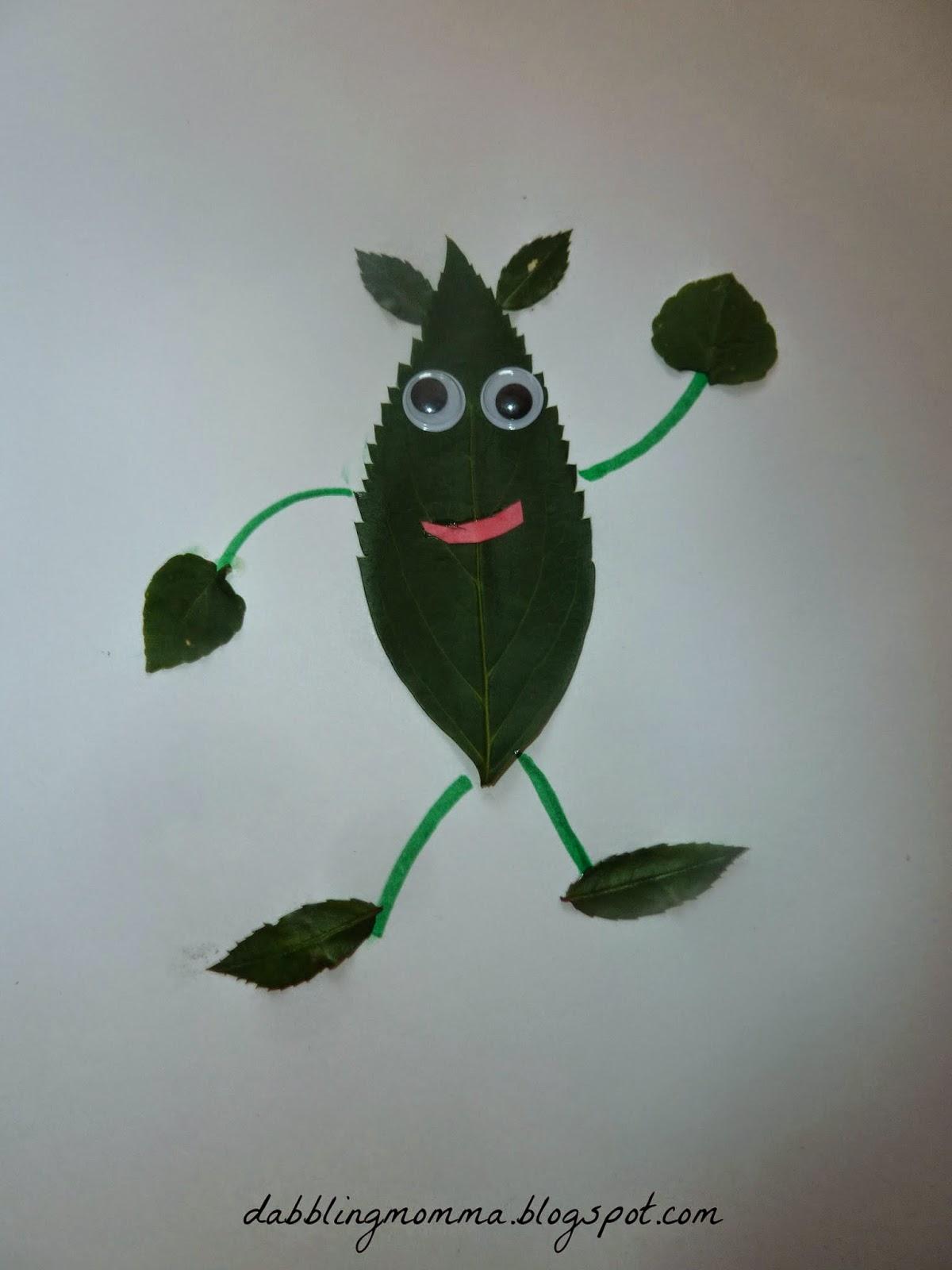Dabblingmomma Leaf Creatures