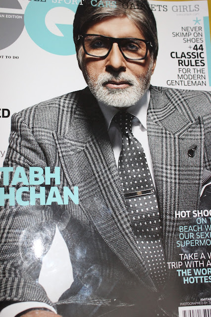 Amitabh Bachchan in Tom Ford Covers GQ June 2013