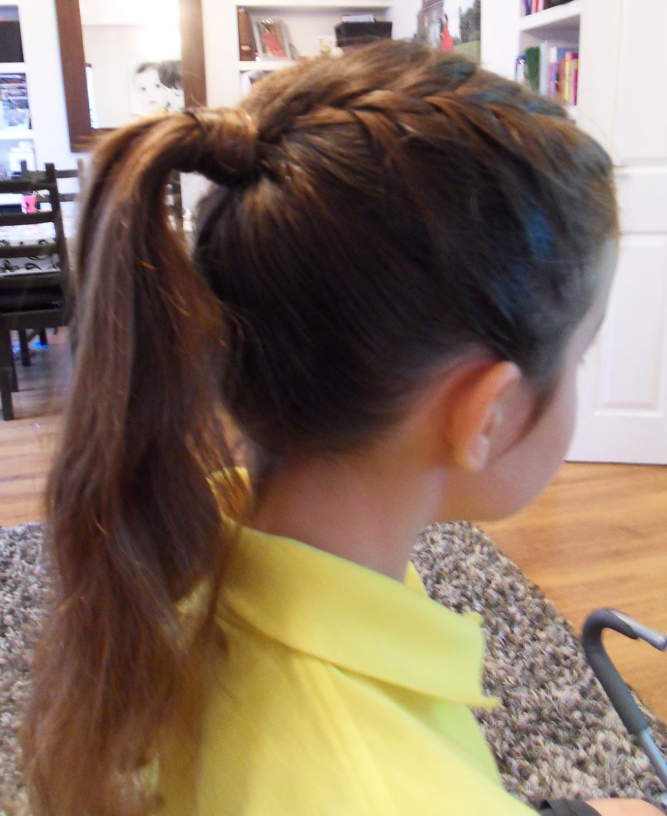 Updo Ponytail Hairstyles