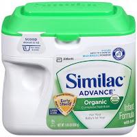 sữa bột similac organic chống táo bón