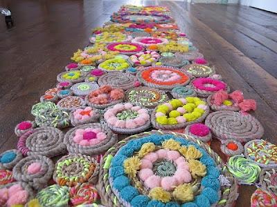 rug of flowers