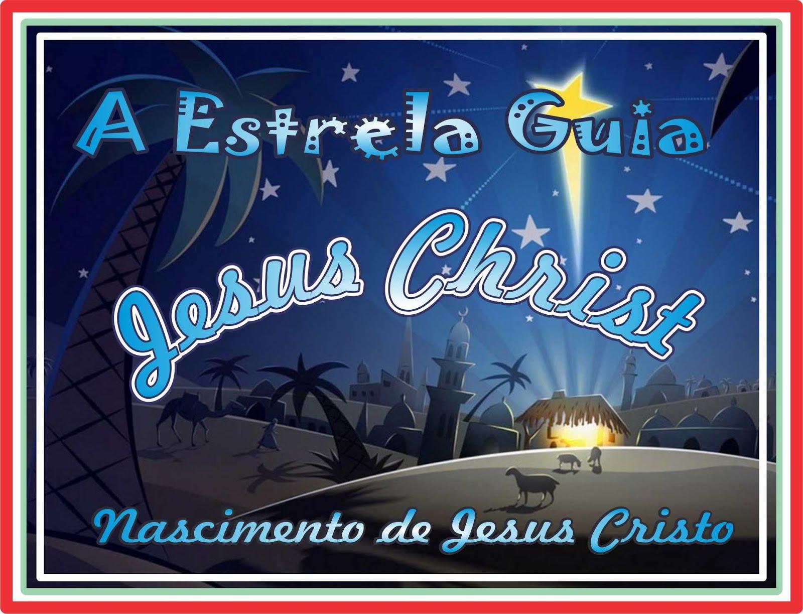 A Estrela Guia Anuncia O Nascimento de Jesus